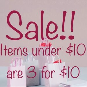 🛍 3 for $10 Sale!